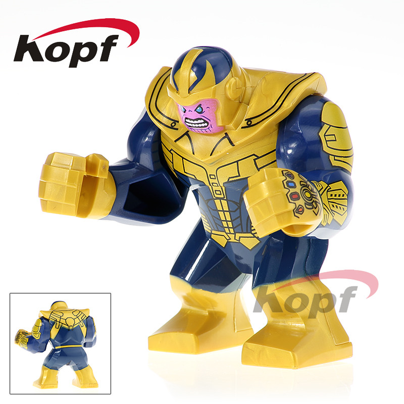 Super Heroes Single Sale Thanos Iron Man Corvus Glaive Lady Death Black Widow Bricks Building Blocks Children Gift Toys XH 815 single sale super heroes thor spiderman captain america batman hawkeye bricks action building blocks toys for children xh 004
