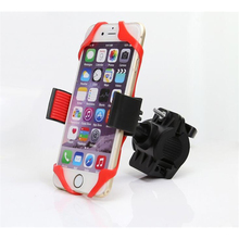 Bike Bicycle Motorcycle Handlebar Mount Holder Phone Holder With Silicone For Iphone XIAOMI GPS Universal 360 Degree Rotatable