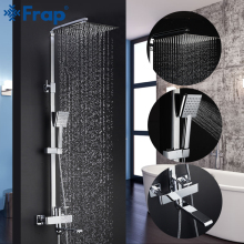 Shower-Faucets Taps Mixer Frap Torneira Top-Quality Rainfall Contemporary