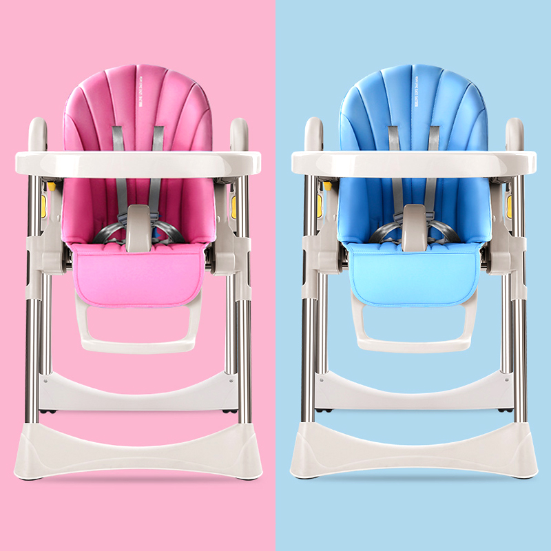 Baby dining chair multi-function baby portable foldable baby eat dinner table chair children's dining chair free shipping children eat chair the portable folding multi function plastic baby chairs and tables for dinner