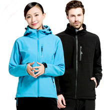 Free shipping Autumn Outdoor Hiking Camping Anti-static Jacket  Outwear Quick-dry Breathable Hooded Waterproof Thermal Windproof
