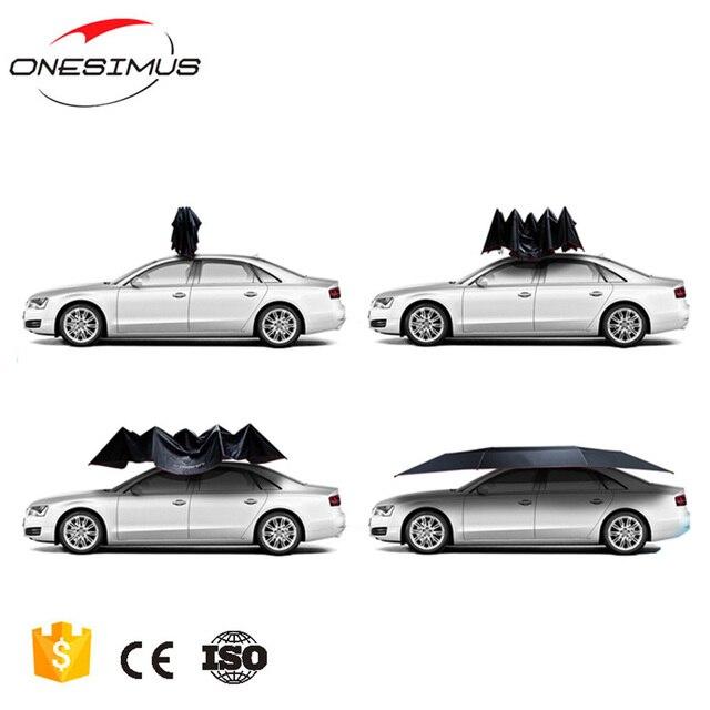 Onesimus Hohe qualität SUNPROOF tragbare auto sonnenschutz regenschirm