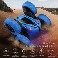 360 Rotate Double faced Stunt Car RC 4WD Remote Control Off road Model Kids Toy Gifts FJ88