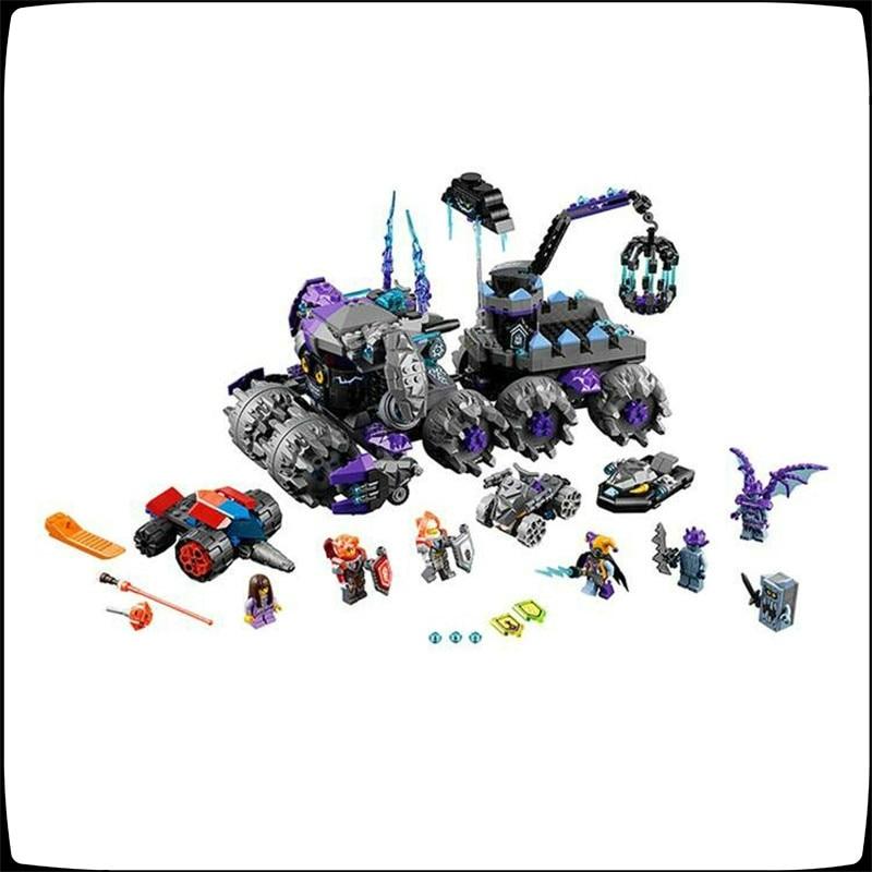 Lepin 14031 886pcs Nexus Knights Jestro\'s Monstrous Monster Vehicle Building Block Compatible monstrous regiment