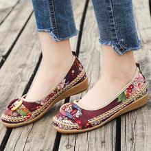 2018 New Fashion Womens Flats Print Casual Shoes Summer Lady Size 40 41 42 aa0785