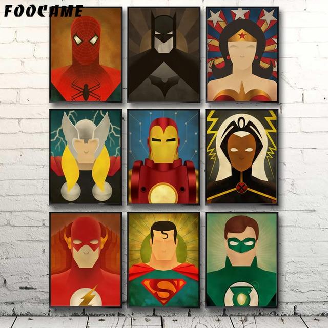 FOOCAME-Superhero-Comic-Heroes-Spider-Ma