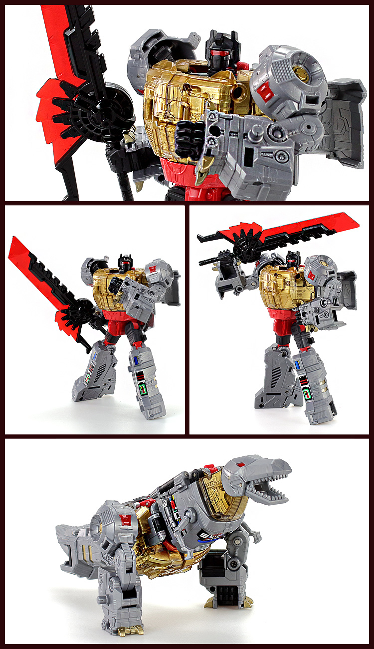 Transform Man Generations Power of the Primes Volcanicus Dinobot Toy KO.ver BPF