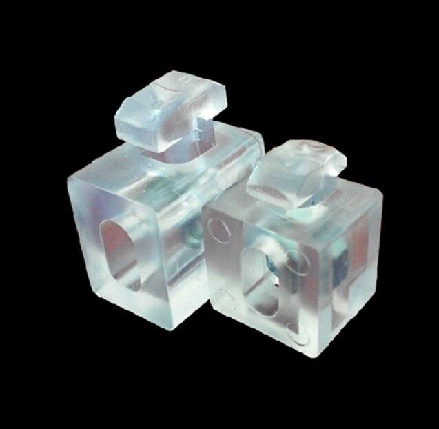 Voor 40 Serie-europese Standaard Industriële Aluminium Accessoires Spacer Fastener Acryl Connector Blok
