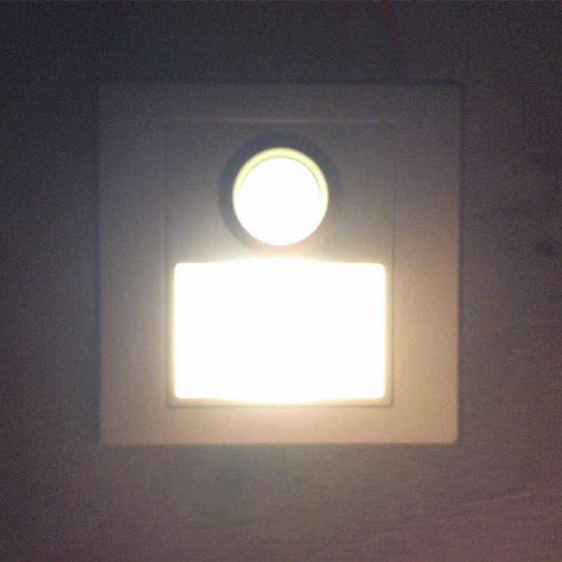 KINLAMS светодиодный PIR с обнаружением инфракрасного излучения датчик движения настенный светильник ночник встроенный лесенка лестница индукция угол прохода свет