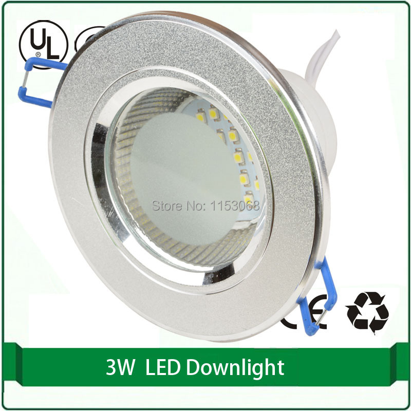 1 pieces 2.5 100mm aluminum led downlight 6 smd 5630 led recessed downlight led panel downlight