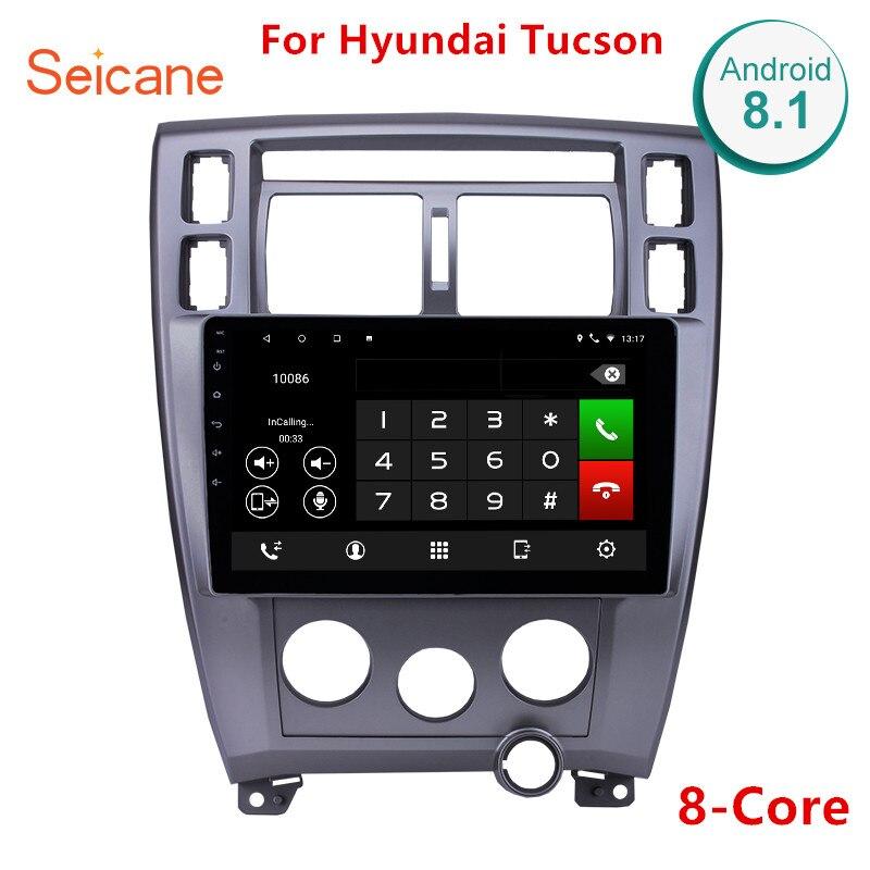 Seicane Android 8,1 10,1 автомобиль радио gps навигации для hyundai Tucson левой руки вождения 2006 2007 2008 2009 2010 2011 2012 2013