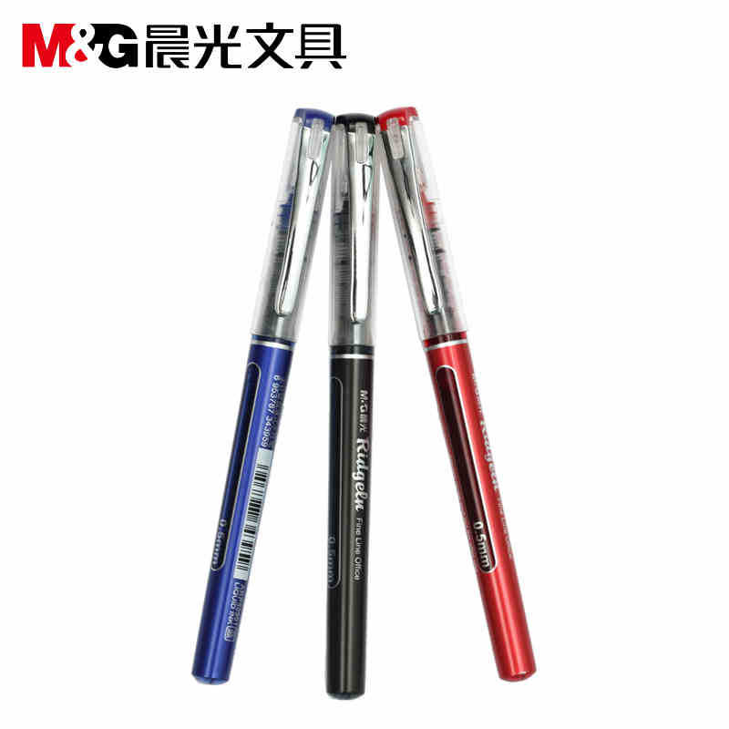 [factory direct selling] stationery direct liquid type office supplies neutral pen ARP50901 length 150mm 12pcs/set the factory direct large painting signature series of neutral pen 1mm 12pcs set