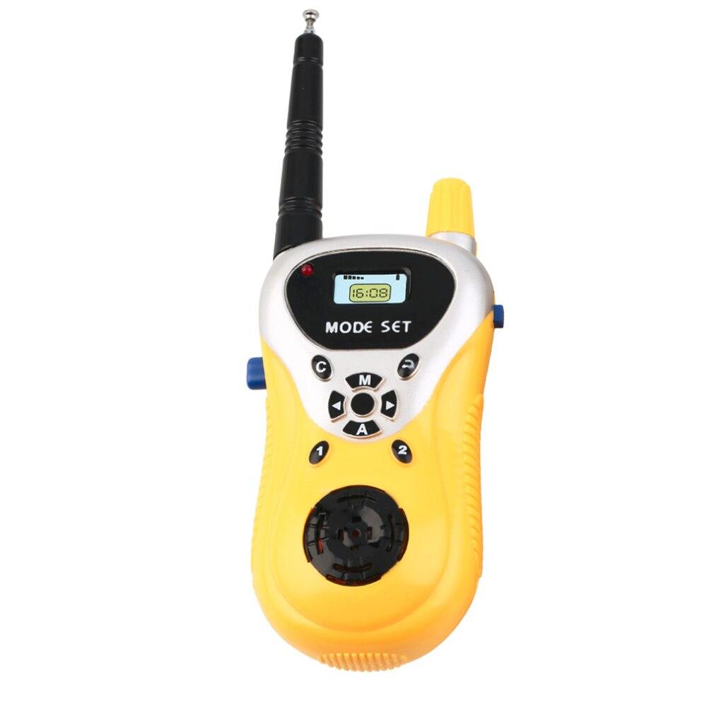 Abbyfrank 2 Pcs Mini Elektronik Walkie Talkie Mainan Spy Gadget - Mainan elektronik - Foto 2