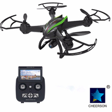 Cheerson CX-35 2.4 GHz 4CH 6 Axe UAV Appareil Photo 2MP 5.8G FPV Vidéo RC avion avec 2G SD carte et le Lecteur
