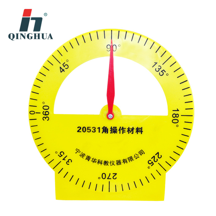 Angle Operation Material (bell Face) Primary School Mathematics Experiment Science and Education Instrument Measurement Tool clock table model teacher demonstration with primary school mathematics science and education equipment three needle linkage