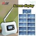 Pantalla LCD! WCDMA 3G 2100 MHz teléfono celular repetidor de señal 3g repetidor de señal celular amplificador Solo Amplificador