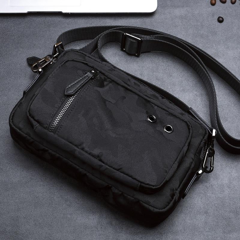 BAQI Brand Men Handbags 2019 Fashion Camouflage Oxford Cloth Waterproof Day Clutches Men Shoulder Bag Crossbody Messenger Bags