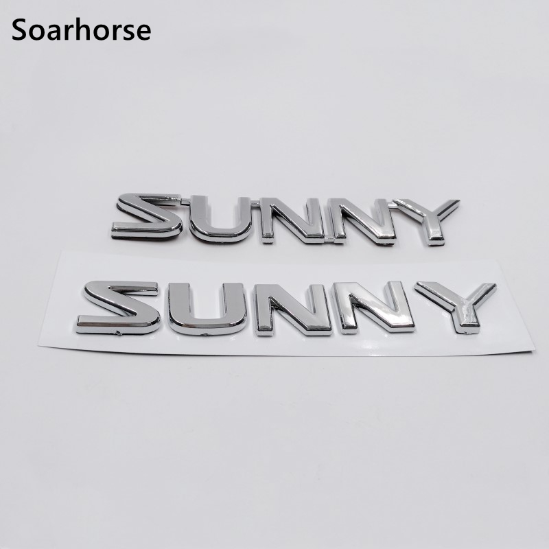 3d Car Sticker For Nissan Sunny 210 B310 Kb310 120y 130y 3d Logo