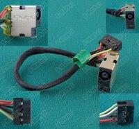 1-50 יחידות DC Power ג 'ק טעינת Socket Connector עבור HP 15-D 15-D000 15-D100 747116-001 250 G3 15-D013TX TPN-F112 F113