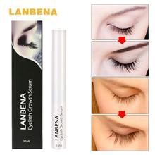 LANBENA 2017 Eyelash Growth Serum 7 Day Eyelash Enhancer Longer Fuller Thicker Lashes Eyelashes and Eyebrows Enhancer Eye Makeup