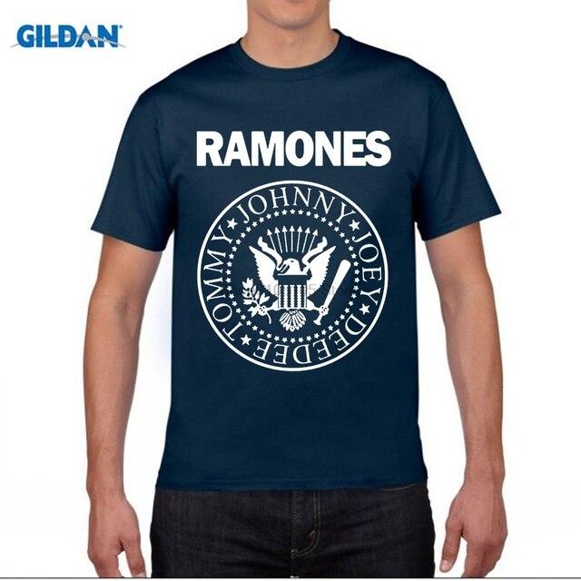 f89c91a42835f0 GILDAN The Ramones T Shirt Rock Band T-shirt Men Women Clothing Short  Sleeve Tee Summer Top Rock N Roll Punk T shirt Gifts
