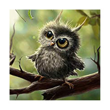 5D Diamond Painting Cartoon Owl Embroidery  Full Drill Mosaic Rhinestone Cross Stitch Kits Craft