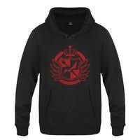 New Men & Women Game Danganronpa Trigger Happy Hoodies Sweatershirt Cotton Winter Warm Danganronpa Logo Pullover Hoody