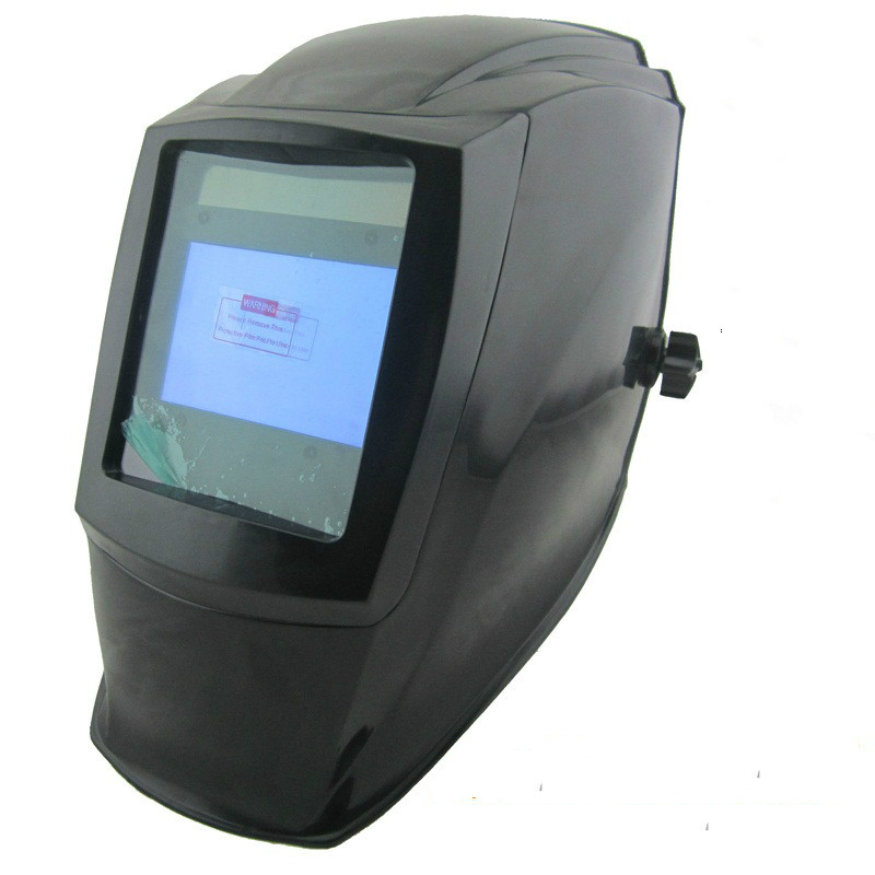 4 Arc Sensor Welding Helmet Solar Auto Darkening with Big Wiew Eara TIG MIG ARC MMA MAG Electric Welder Welding Cap Mask moski solar auto darkening mig mma electric welding mask helmet welder cap welding lens for welding machine