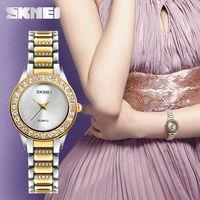 SKMEI Women Quartz Watch Ladies Fashion Dress Wristwatches Top Brand Luxury Jewelry Female Watches Clock Relogio