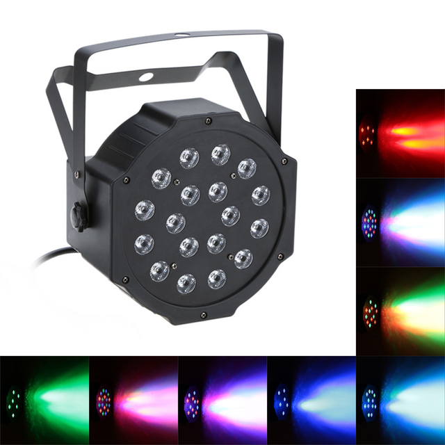 NEW DMX-512 RGB LED Stage Light Led Par Stage Lighting Dmx Dance Floor Dmx Light Dj Light Dj Equipment 7 Channel  Dmx Soundlight