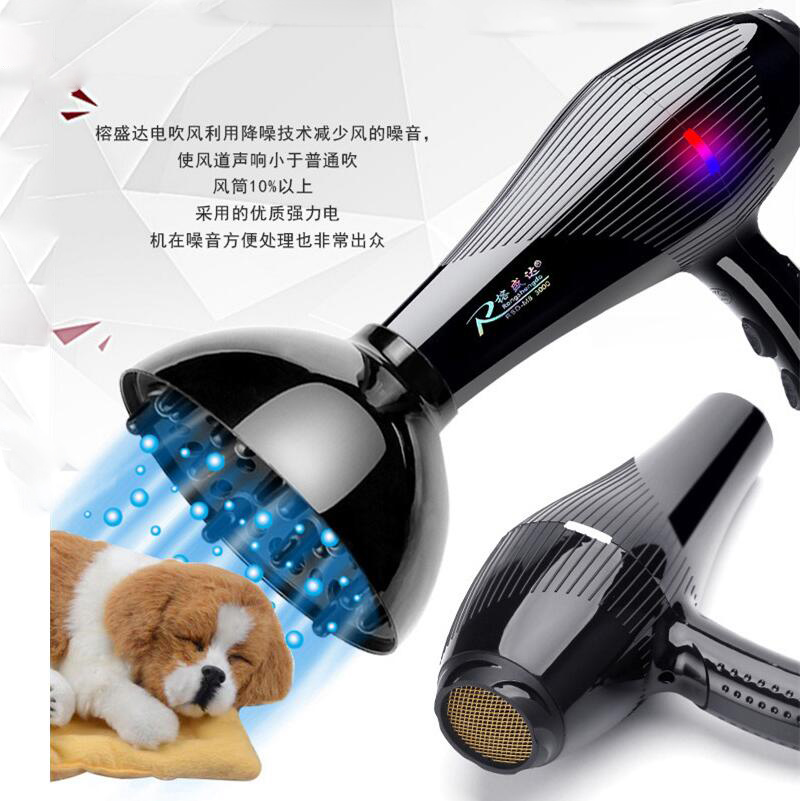 300W Pet Store Professional Dryer Water Machine Teddy Cats Large Dogs Hairdryer High Power Mute Dogs Brush Comb Blower Machine free shipping new version bs 2400 2200w low noise per dryer pet blower with eu plug dog cat variable speed dryer pet grooming