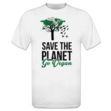 """Save The Planet – Go Vegan"" men's t-shirt"