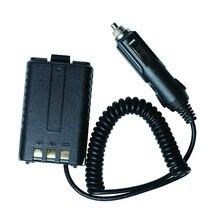Аккумулятор элиминатор BAOFENG UV-5R автомобиль зарядное устройство для UV 5R UV-5RE портативный двусторонний cb радио рация рация BAOFENG аксессуары