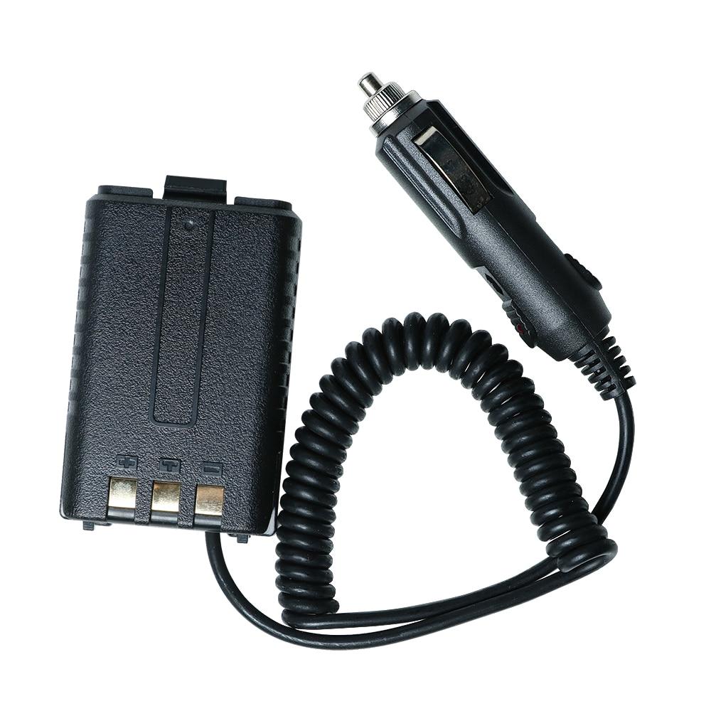 bilder für Battery eliminator baofeng uv-5r auto ladegerät für uv 5r uv-5re portable two way cb radio walkie talkie baofeng zubehör