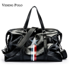 VIDENG POLO Brand Men Casual Large Capacity Handbag Duffle Crossbody Can accommodate 14-inch Laptops Messenger Bag Travel Bag