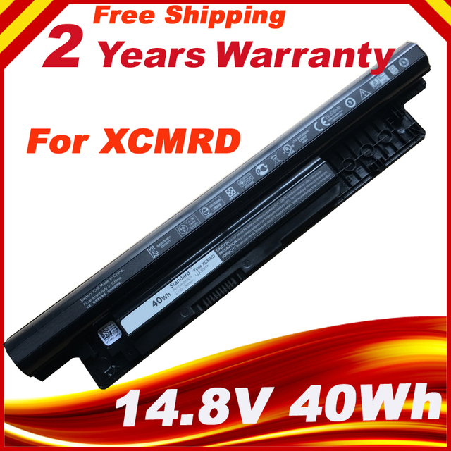 Genuine XCMRD Laptop Battery for DELL Inspiron 3421 3721 5421 5521 5721 3521 XCMRD MR90Y 40WH Free 2 years Warranty