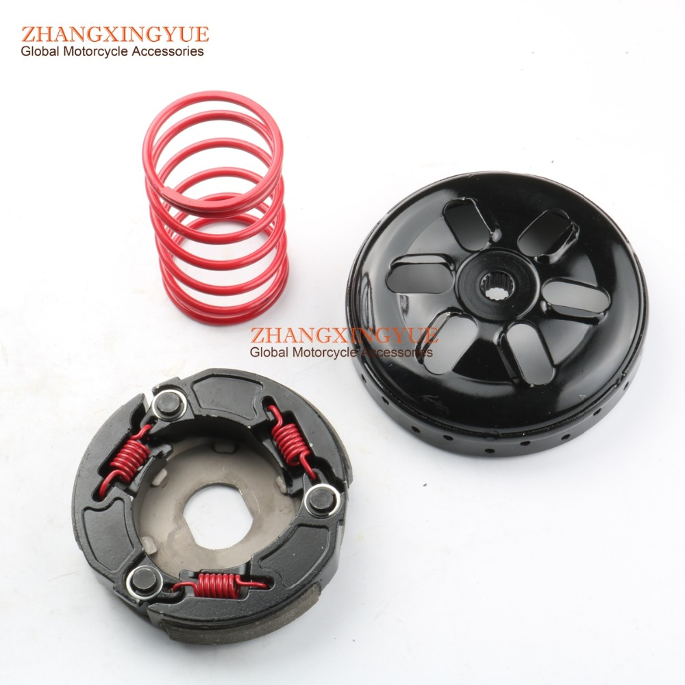 2000RPM Performance Torque Spring & Racing Clutch And Clutch Bell For YAMAHA BWS100 AXIS AEROX Nitro Ovetto 100cc Scooter 2T