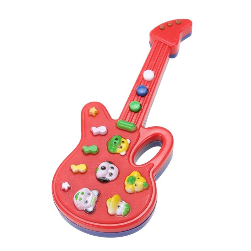 Educational Electronic Guitar Nursery Rhyme Music Toy Child Infant Boys Girls