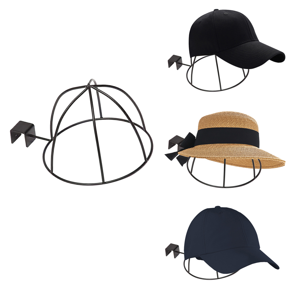 Wall Mount Accessories Home Gift Durable Display Rack Hat Stand Useful Hook Saving Space Caps Holder Multifuctional MetalWall Mount Accessories Home Gift Durable Display Rack Hat Stand Useful Hook Saving Space Caps Holder Multifuctional Metal