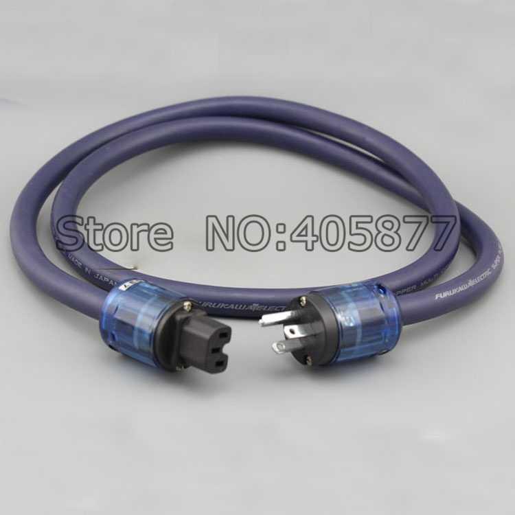 Hi-End Furukawa PCOCC аудио сетевой кабель, шнур питания США, кабель питания