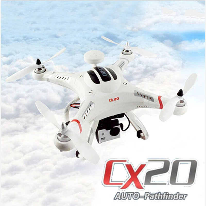 Cheerson CX20 CX-20 CX 20 2.4G RC Quadcopter 4 Axis Open-Source Version Auto-Pathfinder Helicopter UFO Support FPV cheerson cx20 cx 20 cx 20 2 4g rc quadcopter 4 axis open source version auto pathfinder helicopter ufo support fpv