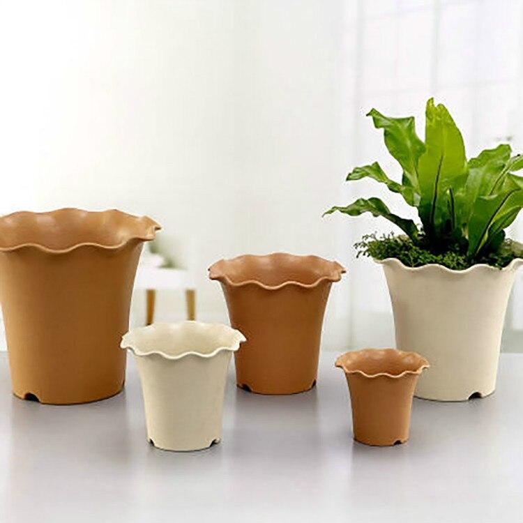 Small Large Deluxe Ceramic Plastic Roman Pastoral Style Planter