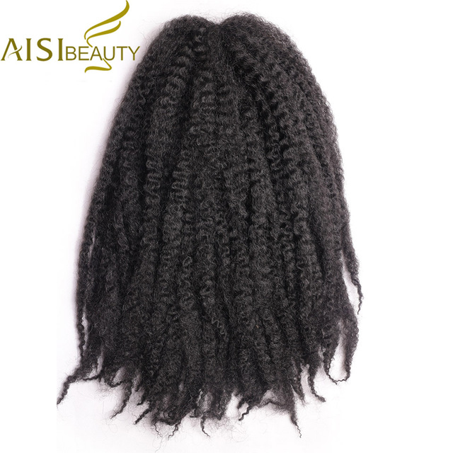 Marley Braids Hair Extension Afro Curly Synthetic Crochet Kanekalon