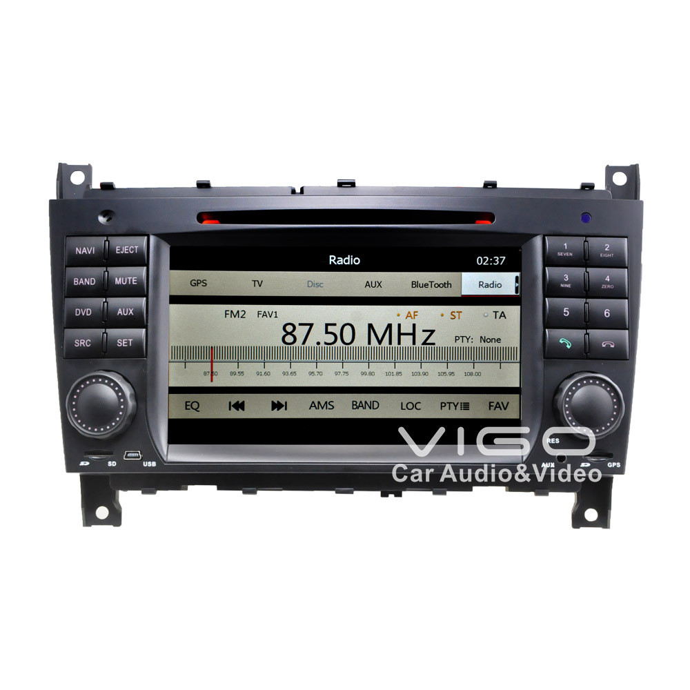 car stereo gps navigation for mercedes benz c class w203. Black Bedroom Furniture Sets. Home Design Ideas