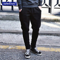 Free shipping new Hot Men's pants good quality fit Cotton Casual Long Full Length pencil  Pants Trousers pants