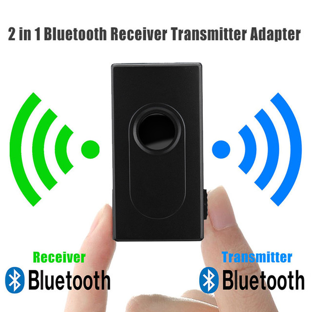 2 in 1 Bluetooth V4 Transmitter Receiver Wireless A2DP 3.5mm Stereo Audio Music Adapter