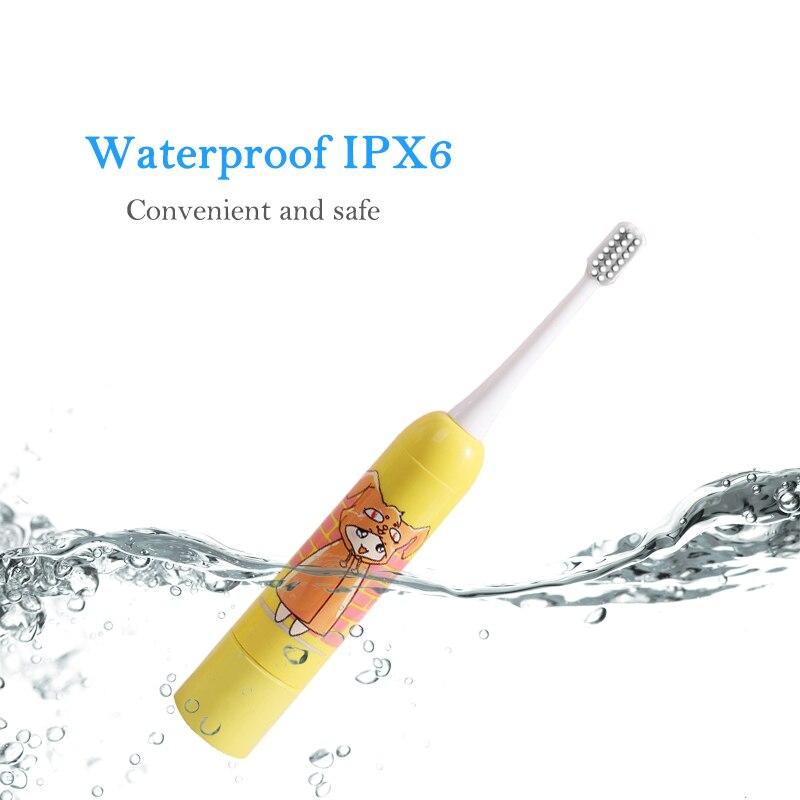 Звуковая автоматическая электрическая зубная щетка, зубная щетка для детей, уход за полостью рта, отбеливающие сменные насадки для xiaomi