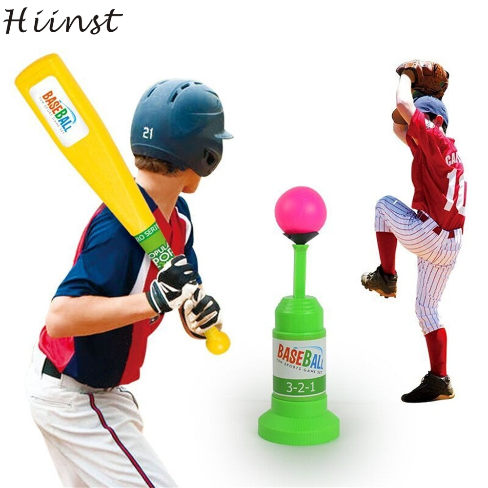 HIINST funny Creative Pop Up Batting Practice Baseball Throwing Machine. Swing Coach Softball Press Do Gift 2017 p30