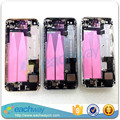 10pcs/lot Full Housing For iPhone 5S Back Metal Chassis Battery Cover Door With Original Flex cable Small parts Replacement