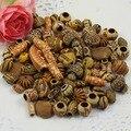 100 pçs/lote cor Misturada & estilo Misto Acrílico Beads Colar para Crianças DIY Jeweley 8-25mm K00590